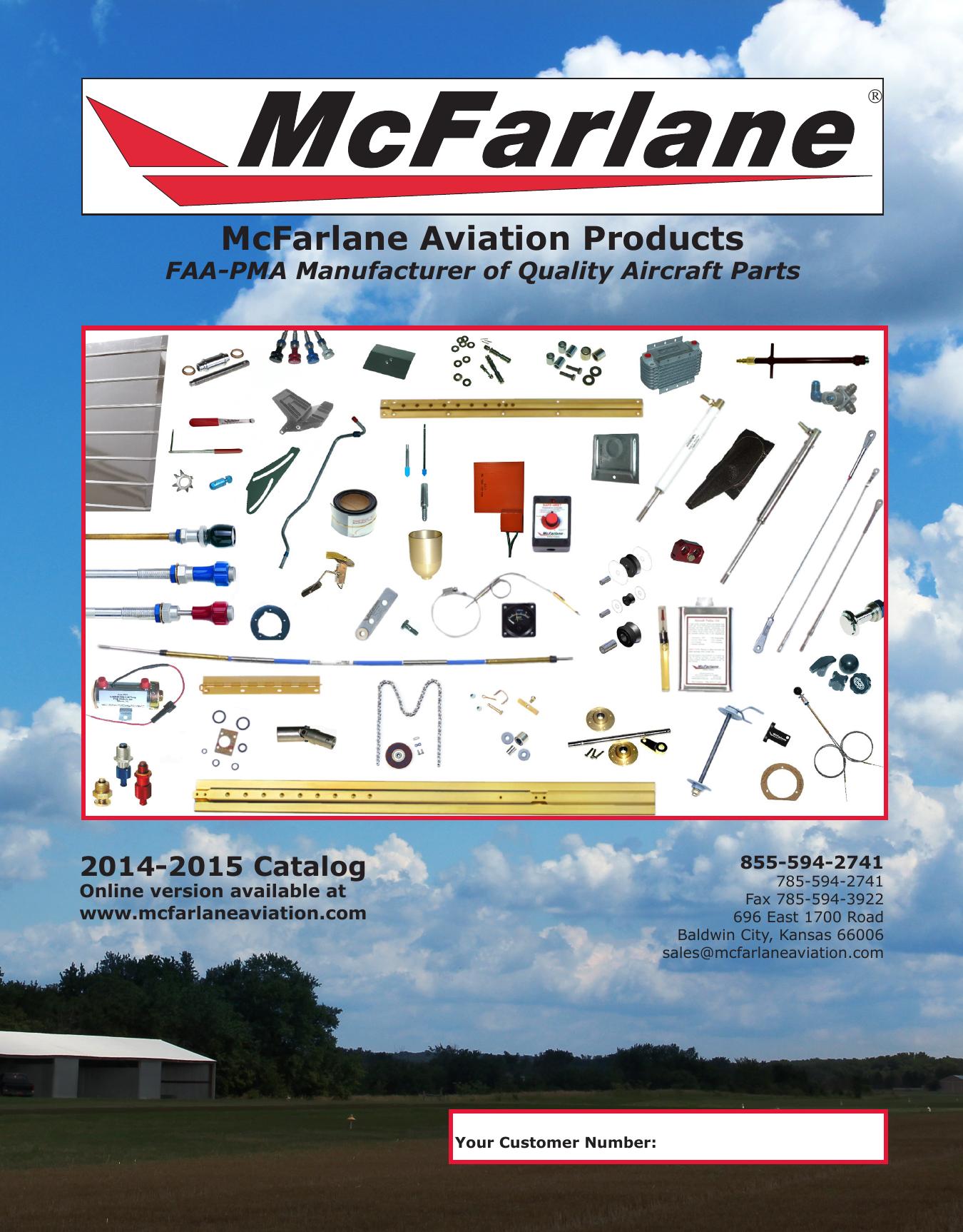McFarlane Aviation Catalog 2014 - APS Aviation Parts Service GmbH