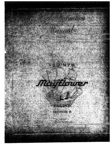 Triumph Mayflower service manual | d-clutch-cover.pdf