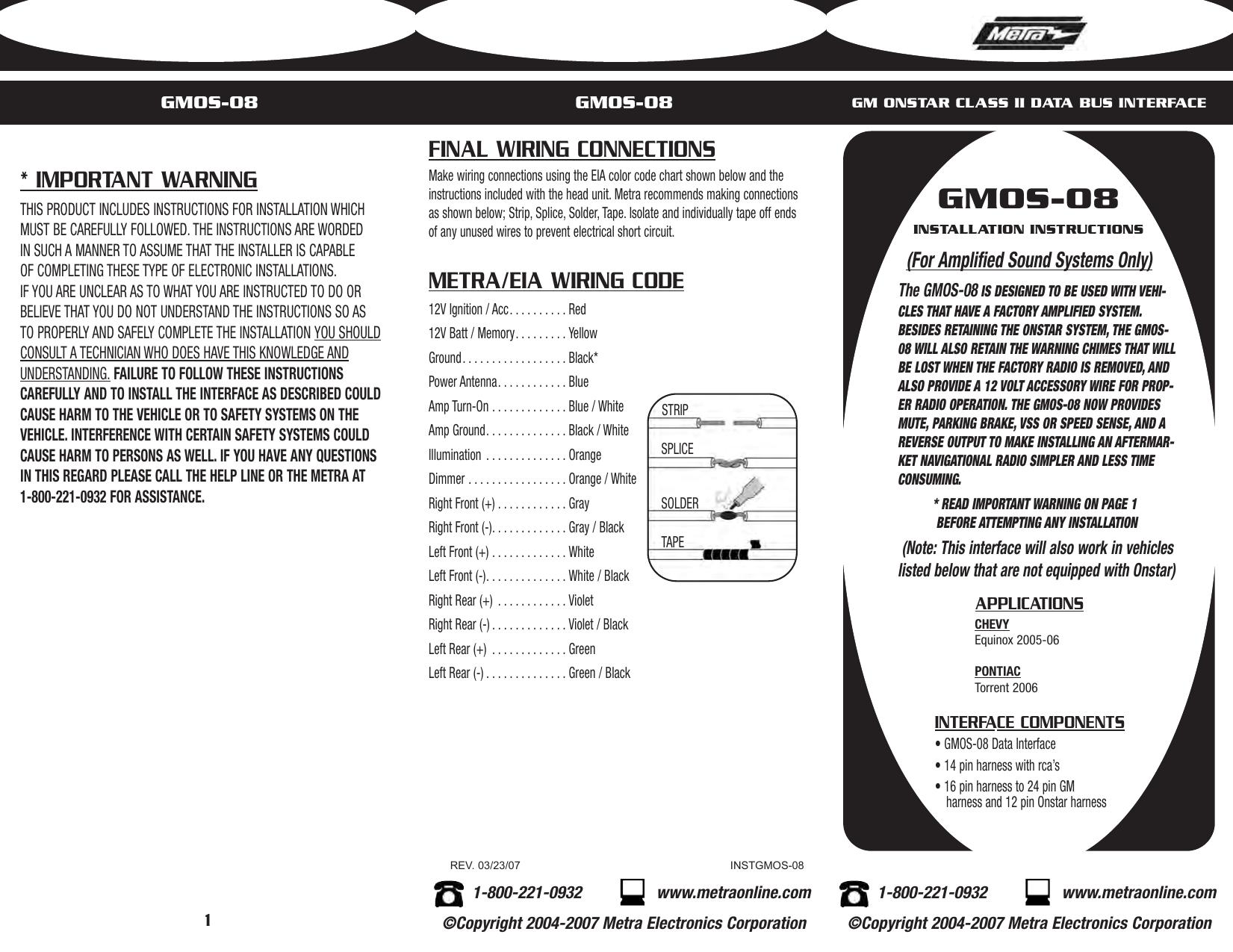 GMOS-08 - CatalogRack   manualzz.com on onstar antenna, onstar modules, onstar controls, onstar ignition,