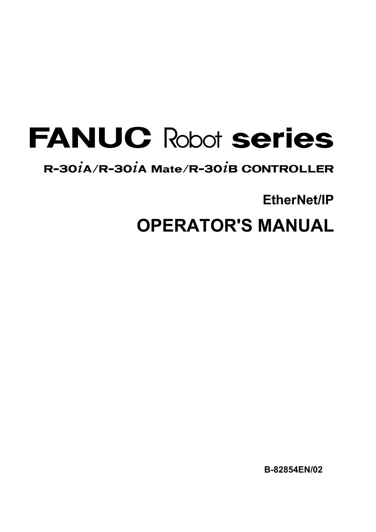 FANUC Robot series R-30iA/R-30iA Mate/R   manualzz com