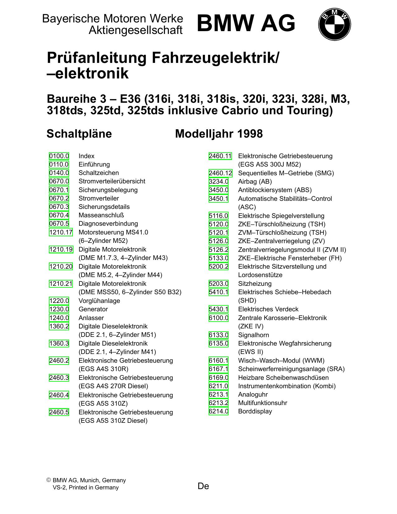 Prüfanleitung Fahrzeugelektrik/ –elektronik - Motor-Talk | manualzz.com