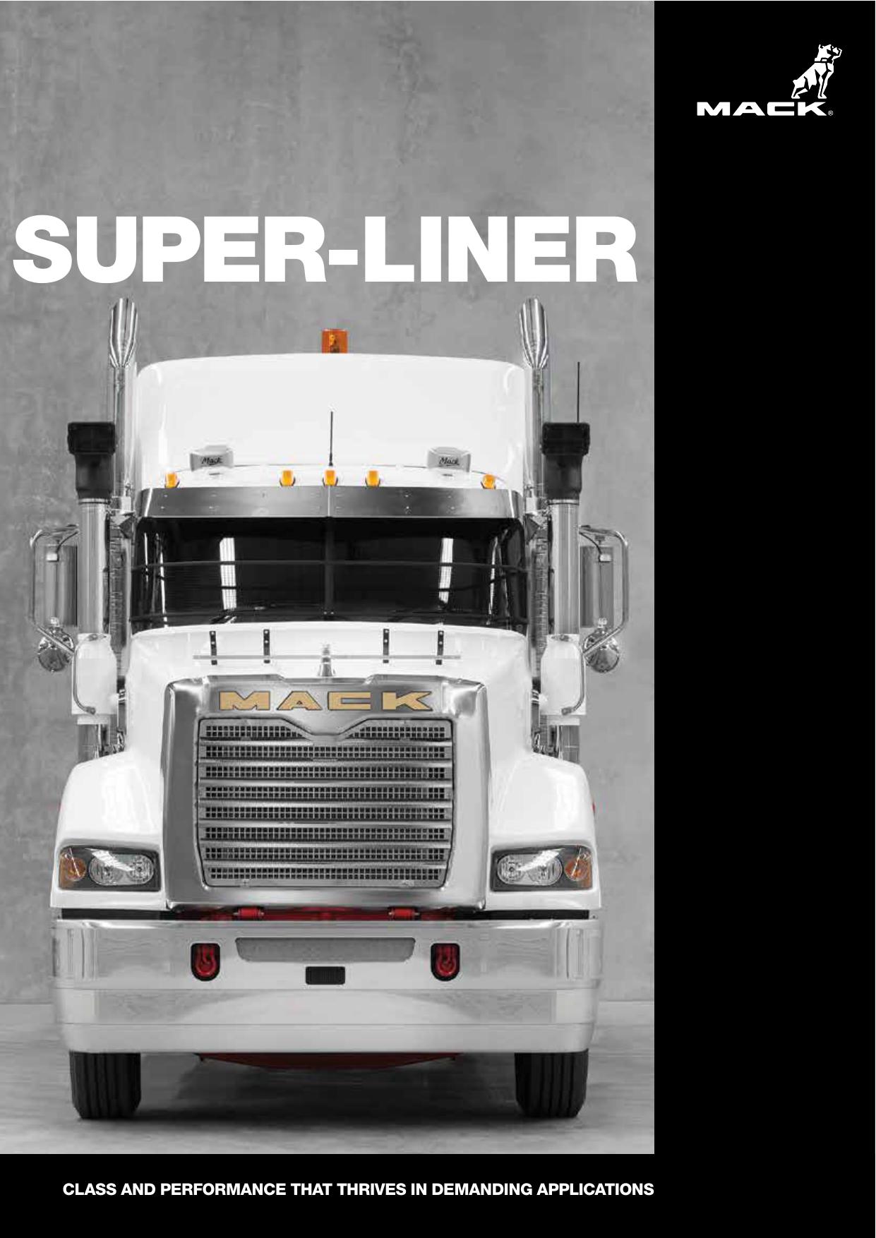 super-liner - Mack Trucks Australia   manualzz.com on