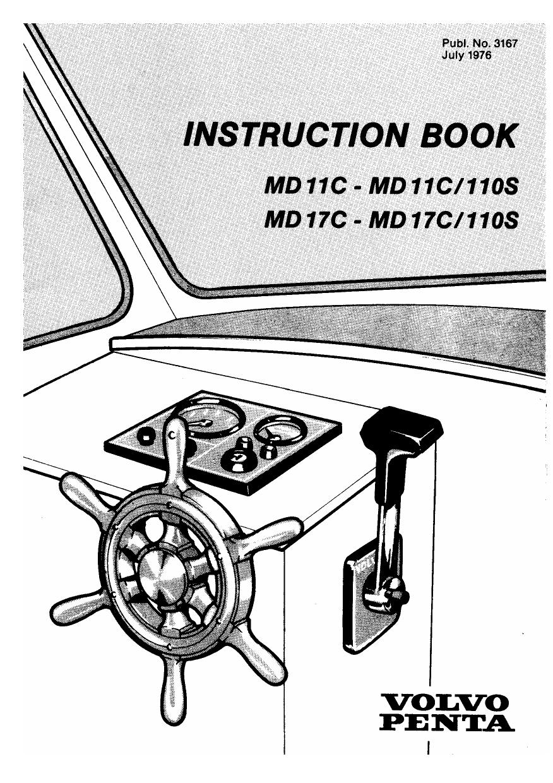Volvo Penta MD11C owner`s manual (PDF 1 5Mb) | manualzz com