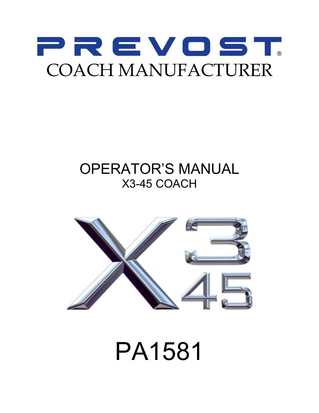 PA1581 - Prevost | manualzz com