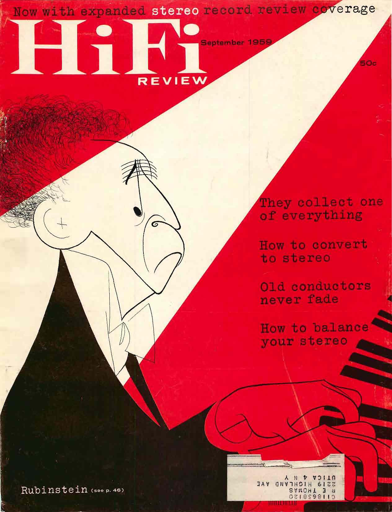 Hifistereo Review September 1959 Manualzzcom