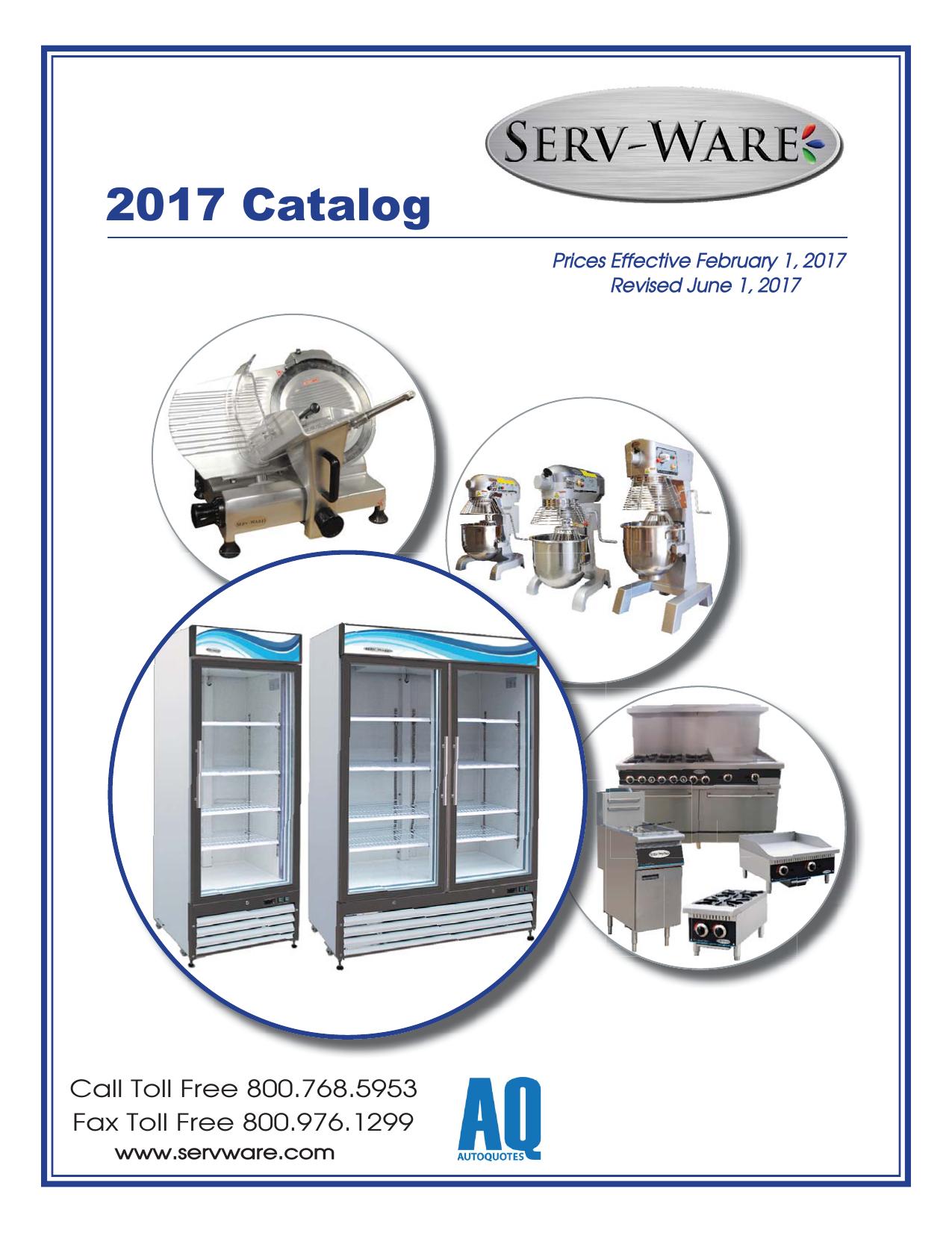List Price Catalog Guts V2dd Serv Ware