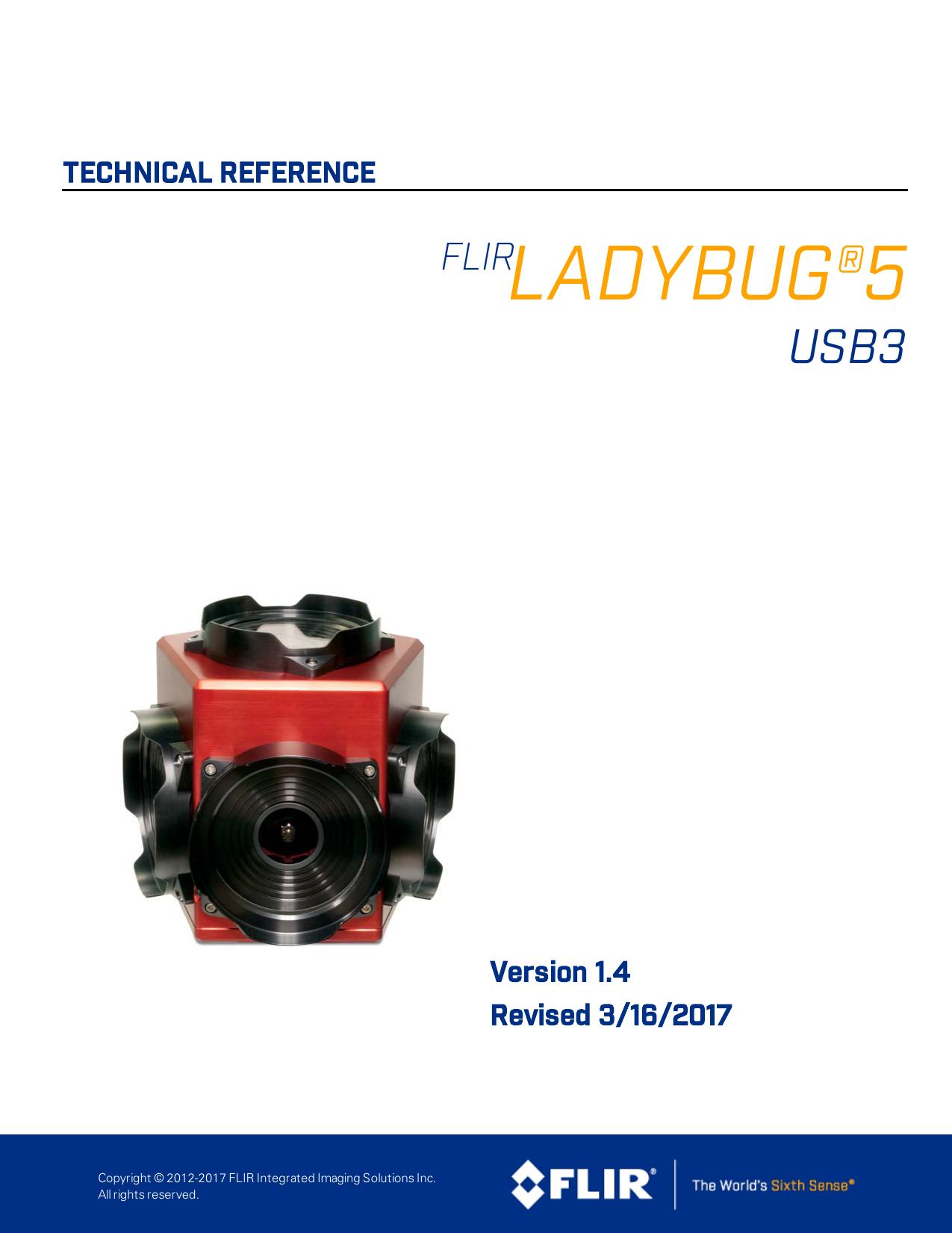 Ladybug5 Technical Reference Manual | manualzz com