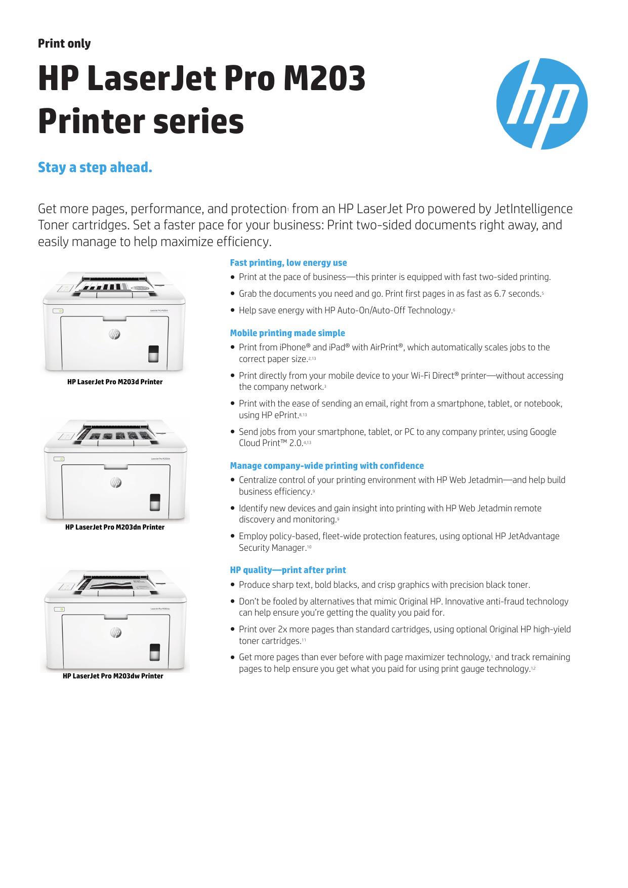 APJ IPG VEP Commercial HP Color LaserJet Pro M252   manualzz com