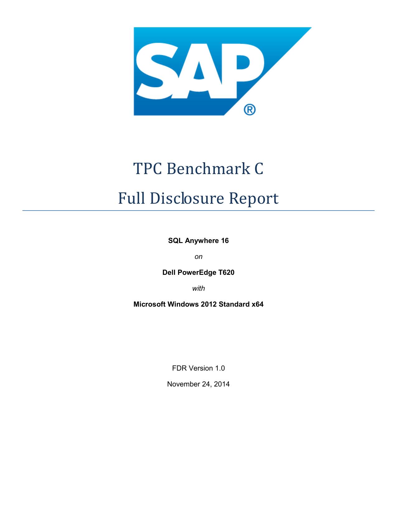 TPC Benchmark C | manualzz com