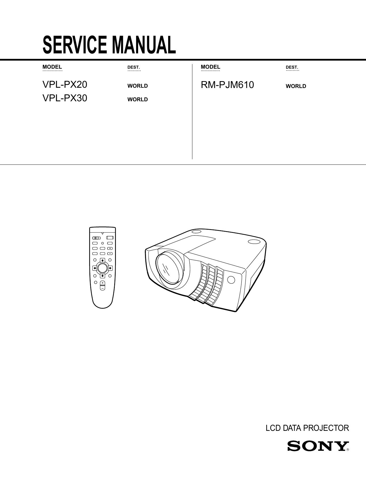 LCD Data Projector | manualzz com