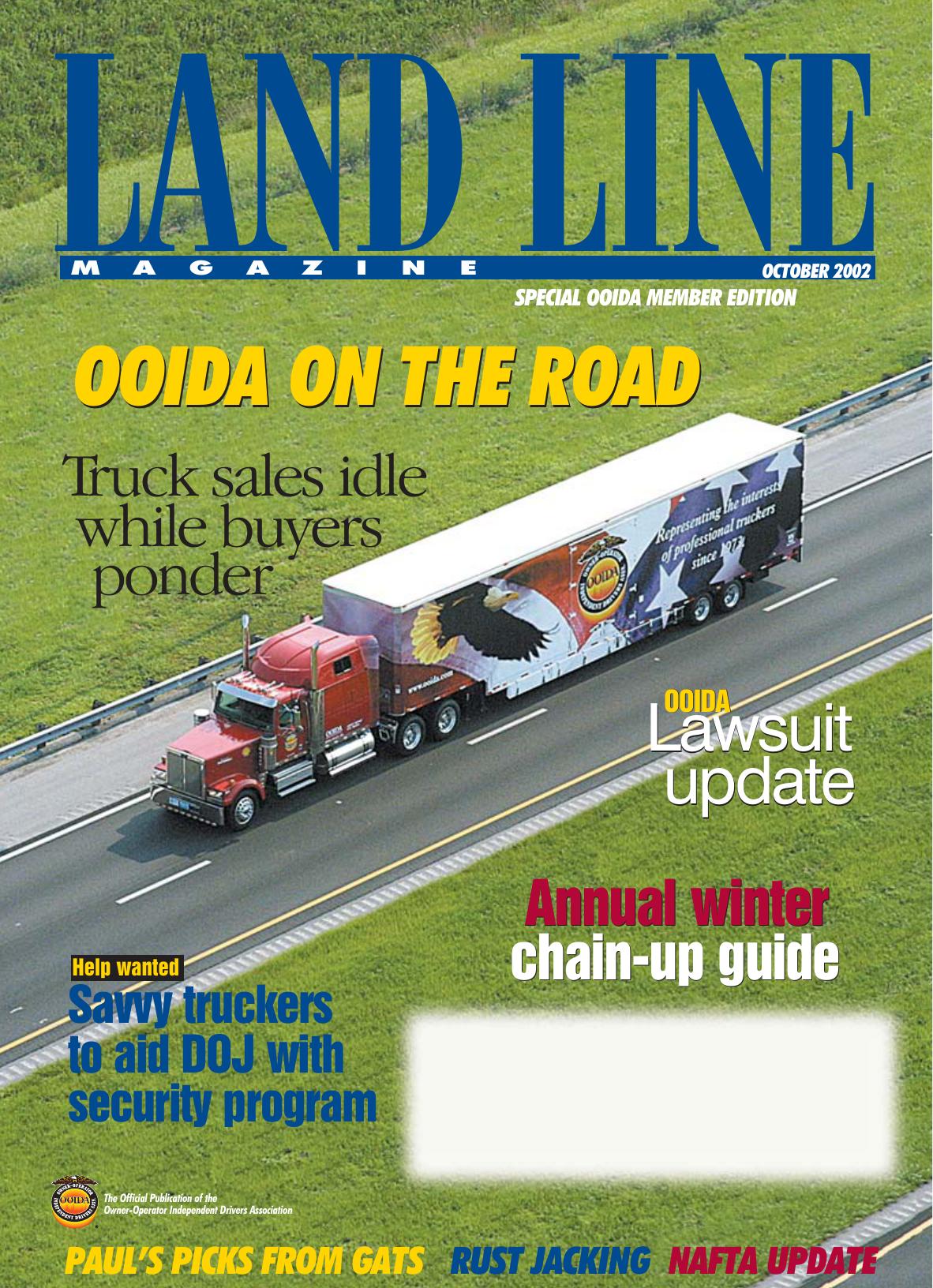 Land Line Magazine October 2002 | manualzz com