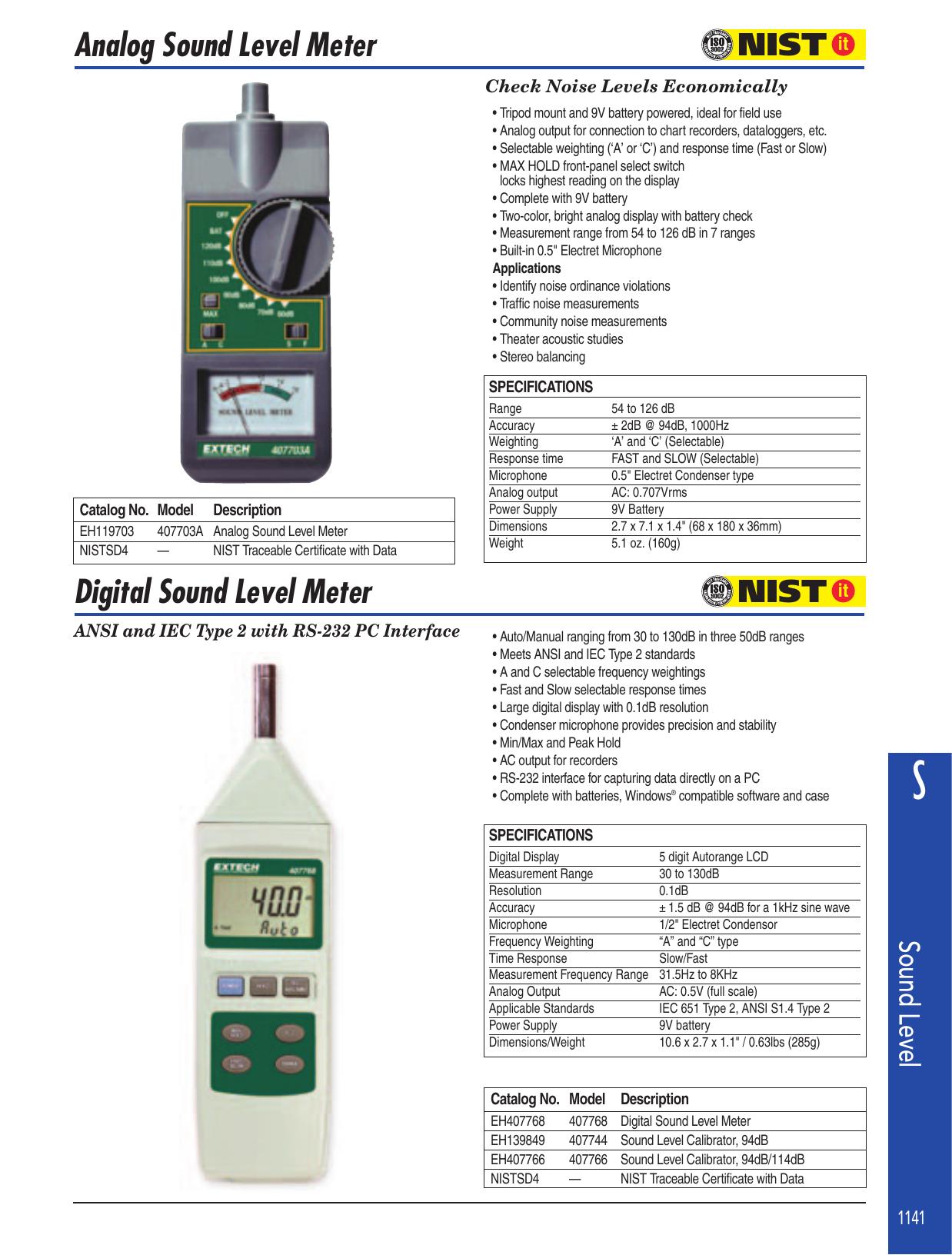 Sound Level Meter - maxtechinst com hk | manualzz com