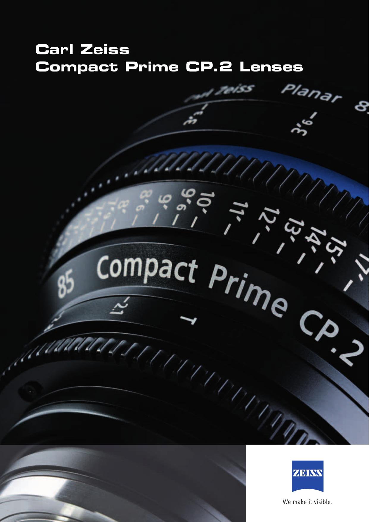 Carl Zeiss Compact Prime CP 2 Lenses - Nivo | manualzz com