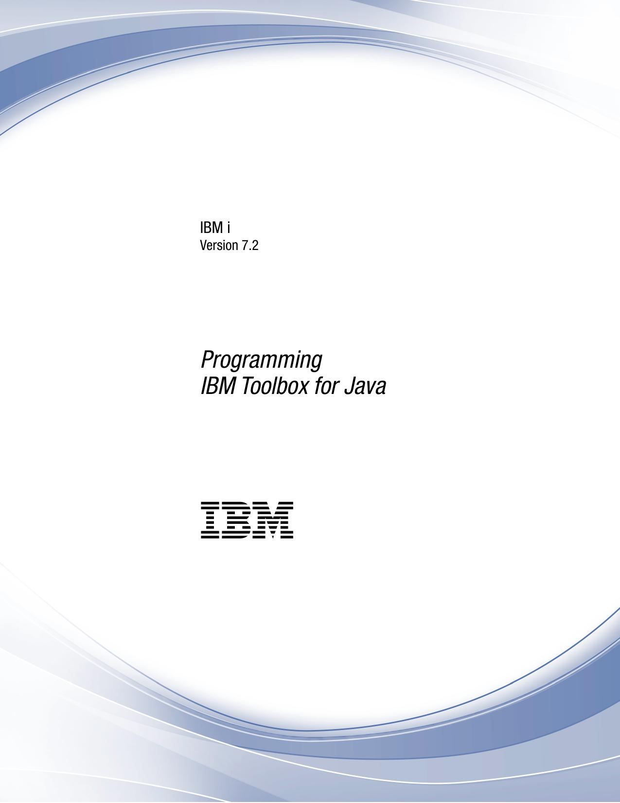 IBM Toolbox for Java | manualzz com