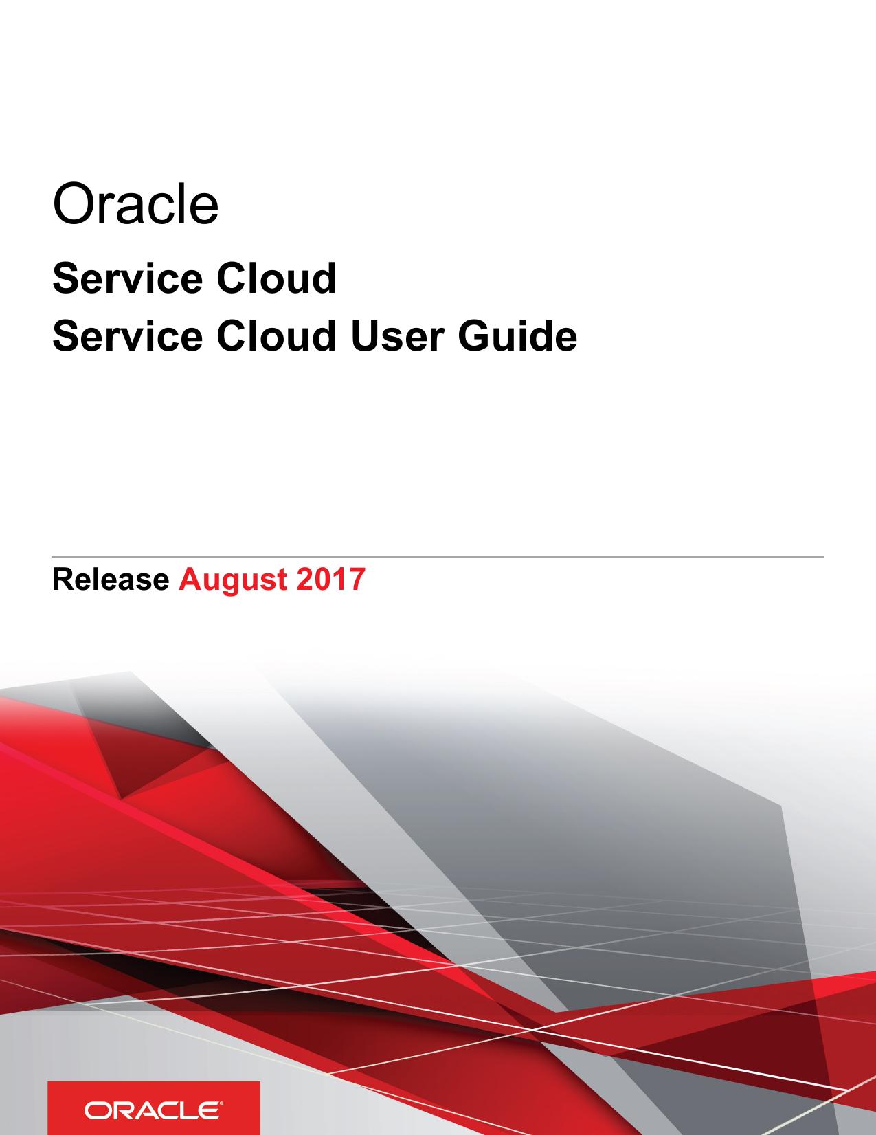 Service Cloud User Guide | manualzz com