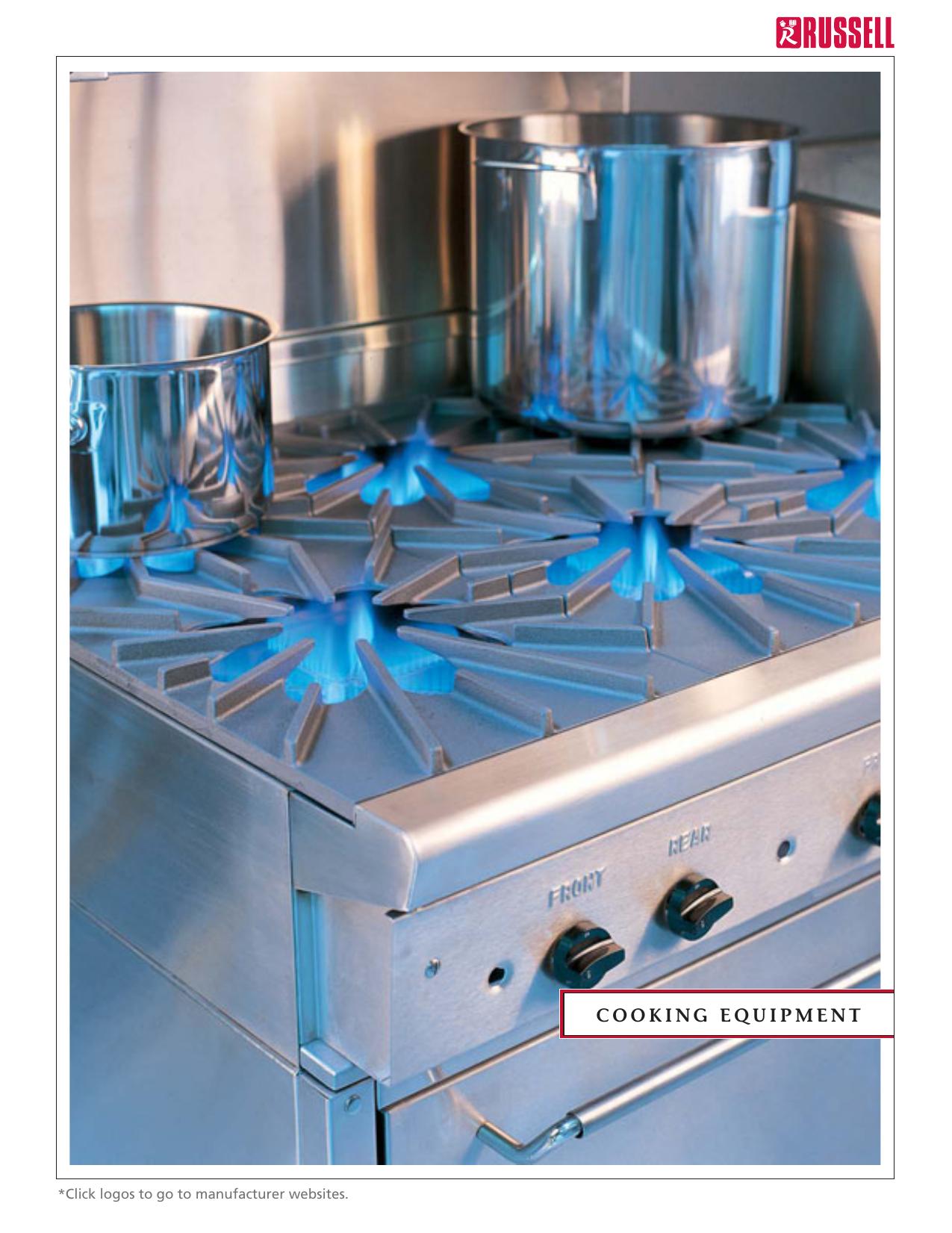Russell Food Equipment Ltd. - Catalogue - Cooking Equipment ...