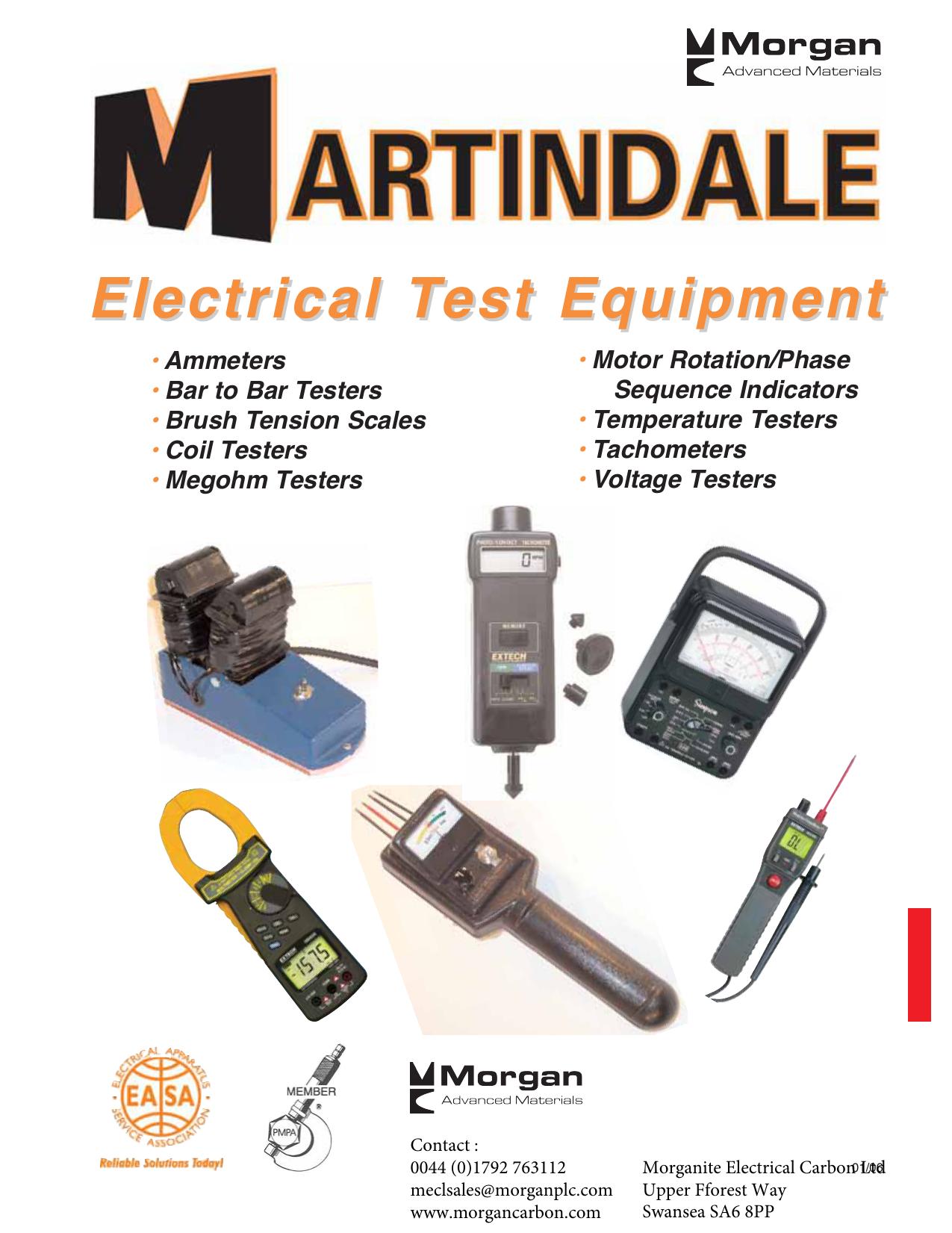 Electrical Test Equipment - Morgan Advanced Materials