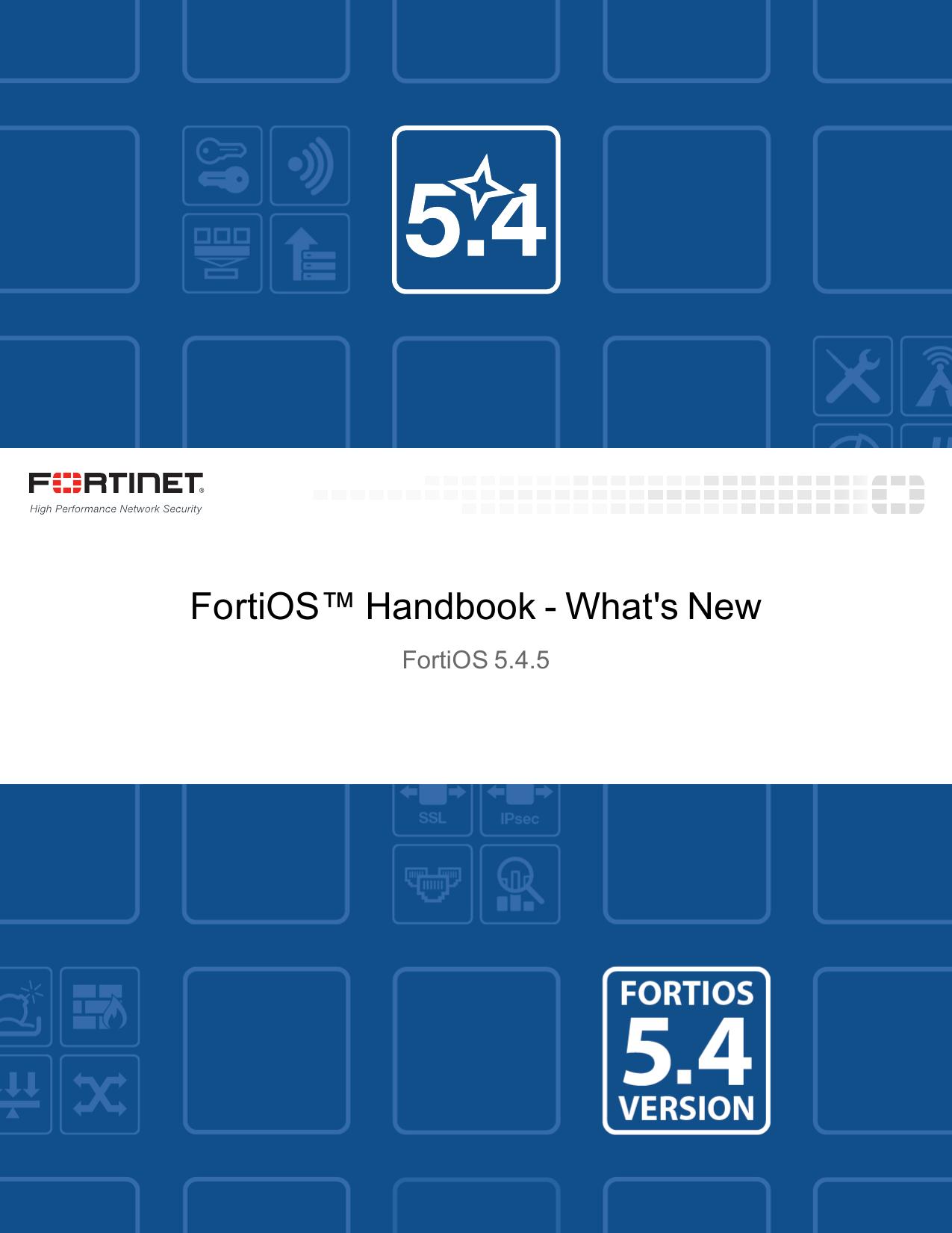 What`s New Handbook for FortiOS 5 4 | manualzz com