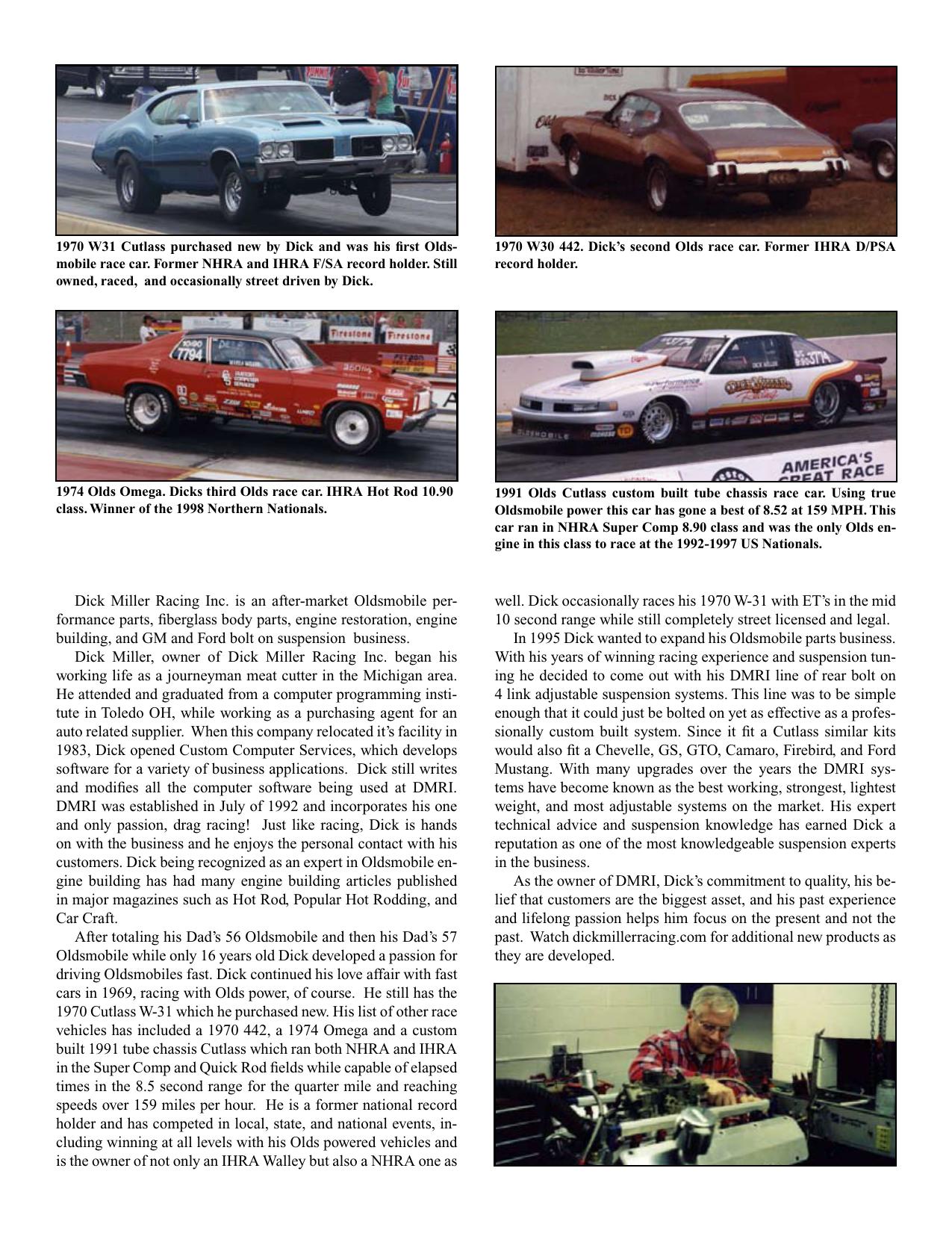 Oldsmobile Olds v-8 260-455 140gph fuel Pump High Volume