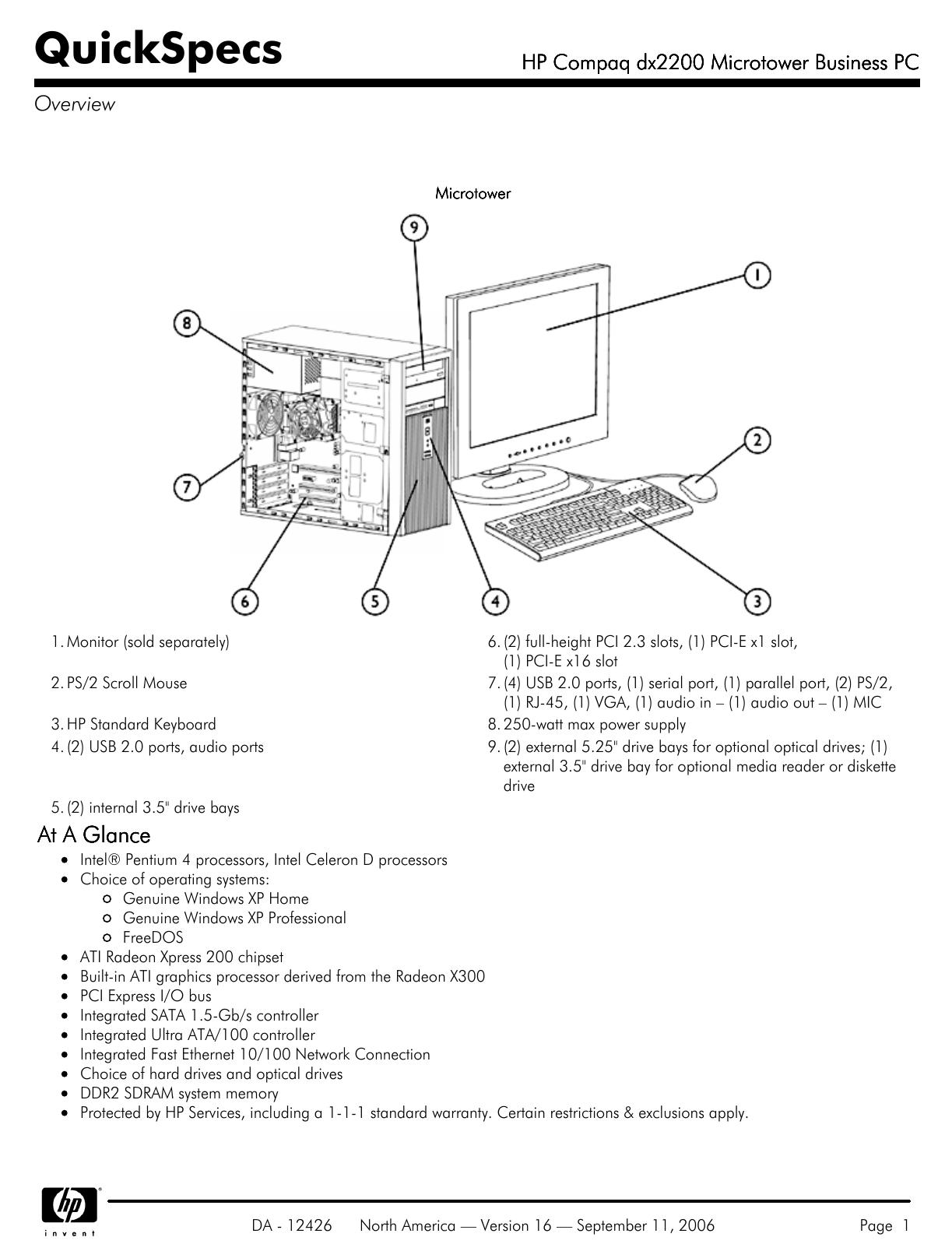 HP COMPAQ DRIVERS DX2200 TÉLÉCHARGER