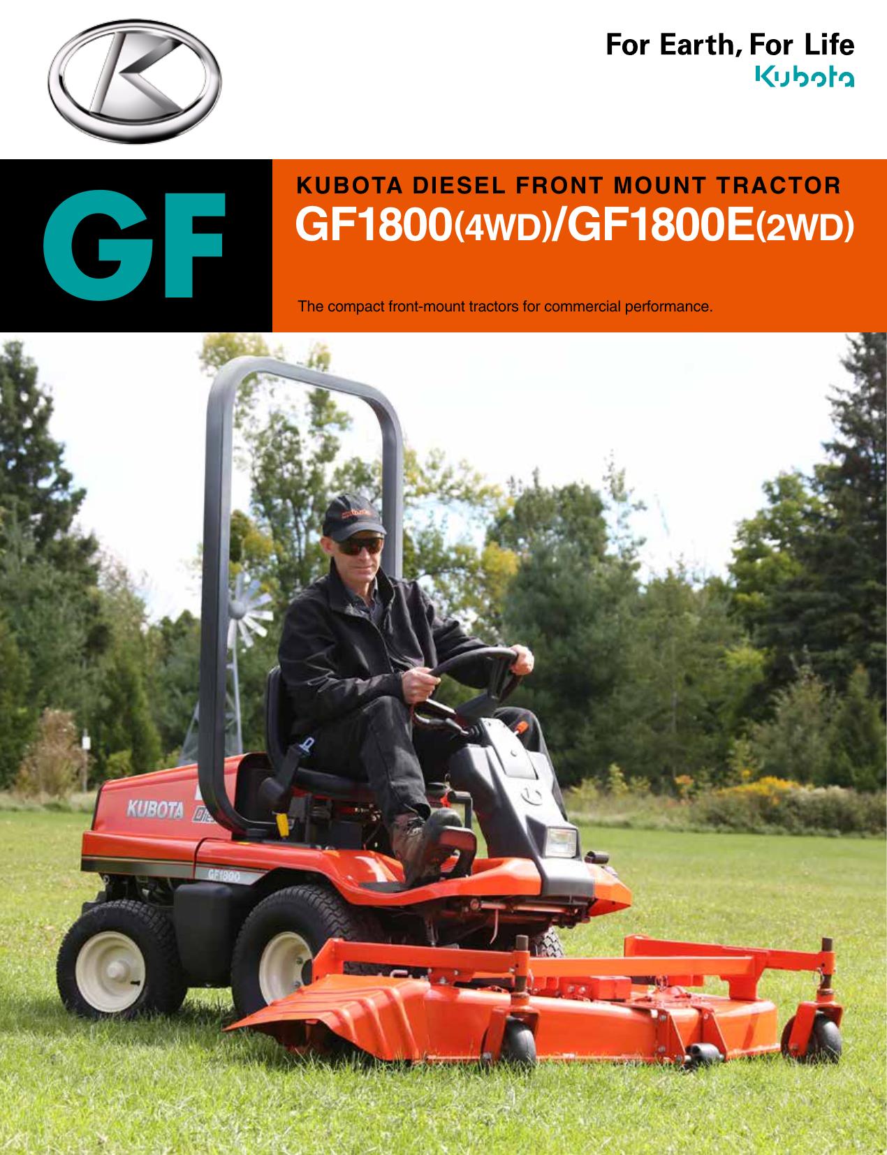 GF GF1800(4WD)/GF1800E(2WD)   manualzz com