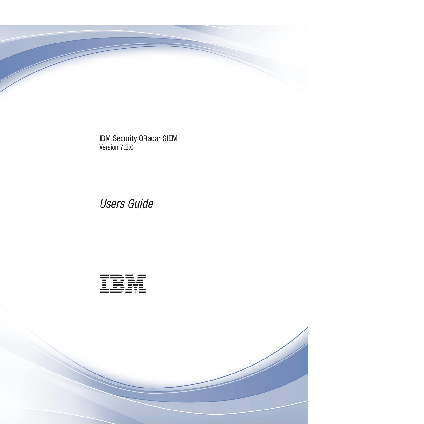 IBM Security QRadar SIEM Users Guide | manualzz com