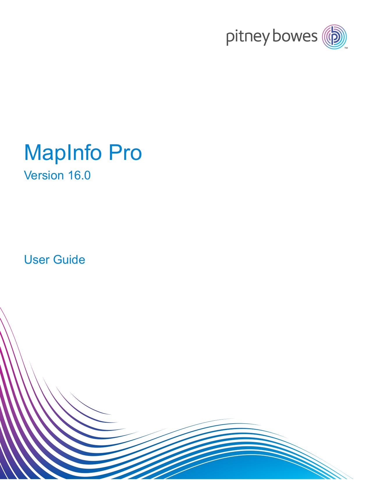 MapInfo Pro User Guide - Product Documentation   manualzz com