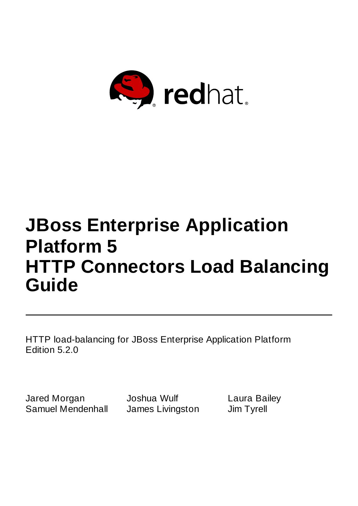 JBoss Enterprise Application Platform 5 HTTP Connectors Load