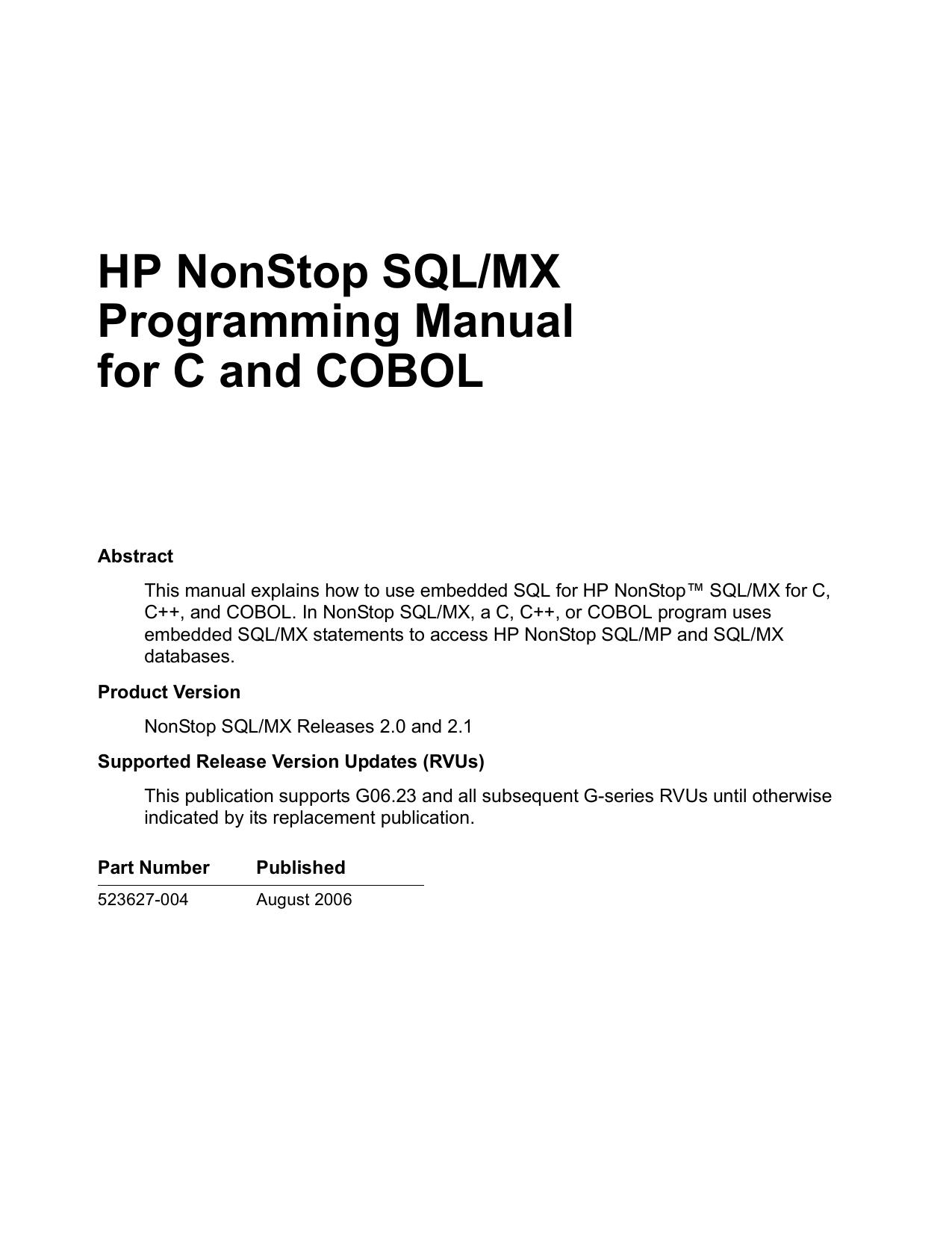 array nonstop soap user s manual manualzz com rh manualzz Array - hp  nonstop tandem manuals rh hp nonstop tandem manuals zettadata solutions