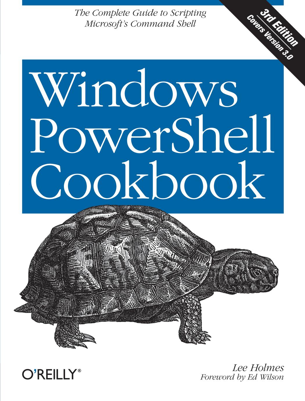 Windows PowerShell Cookbook - Automatic Packing Machine   manualzz com