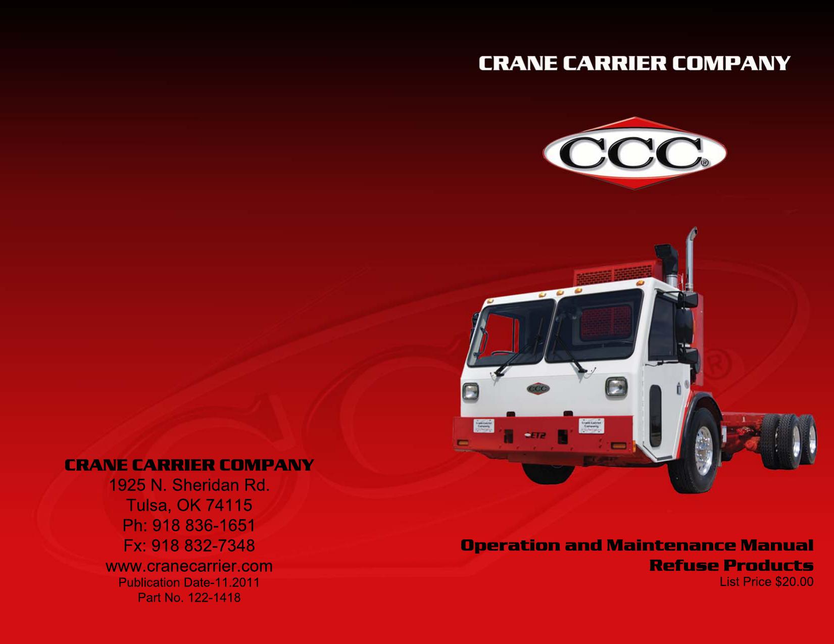 Lt2 Op Manual 2011 - Crane Carrier Company | manualzz com