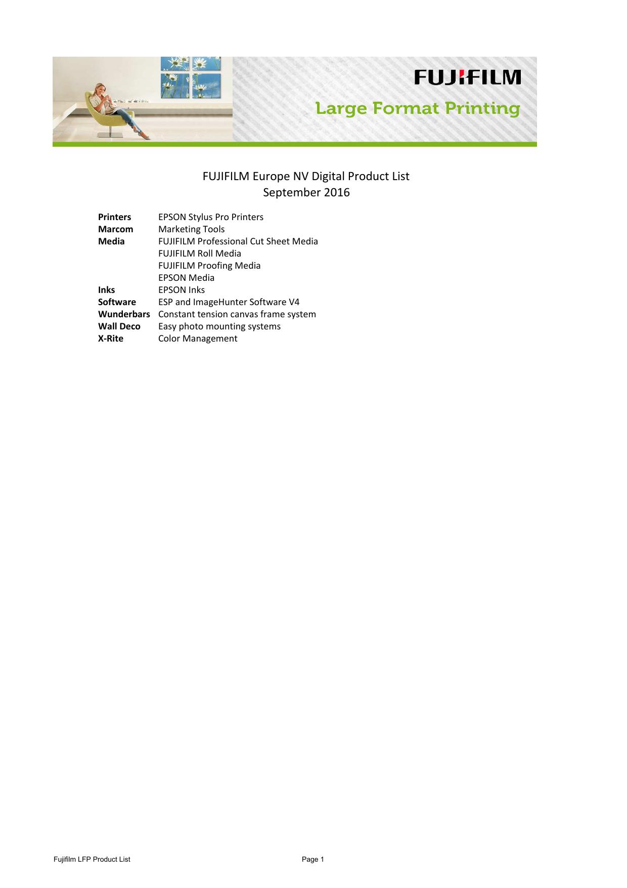 LFP Price List September 2016_FUJIFILM Hellas SA_92 xlsx