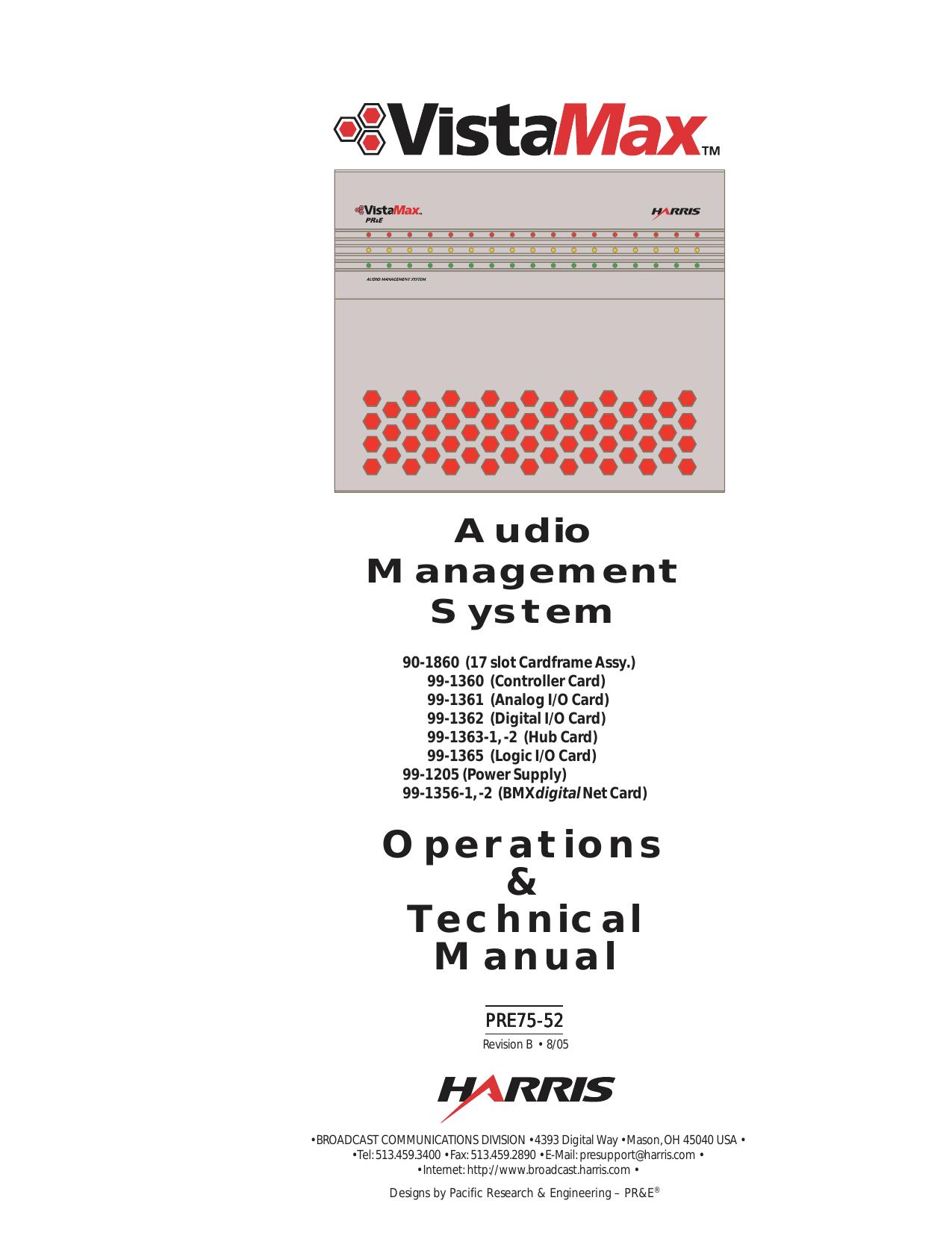 75-52rB VistaMax manual | manualzz com
