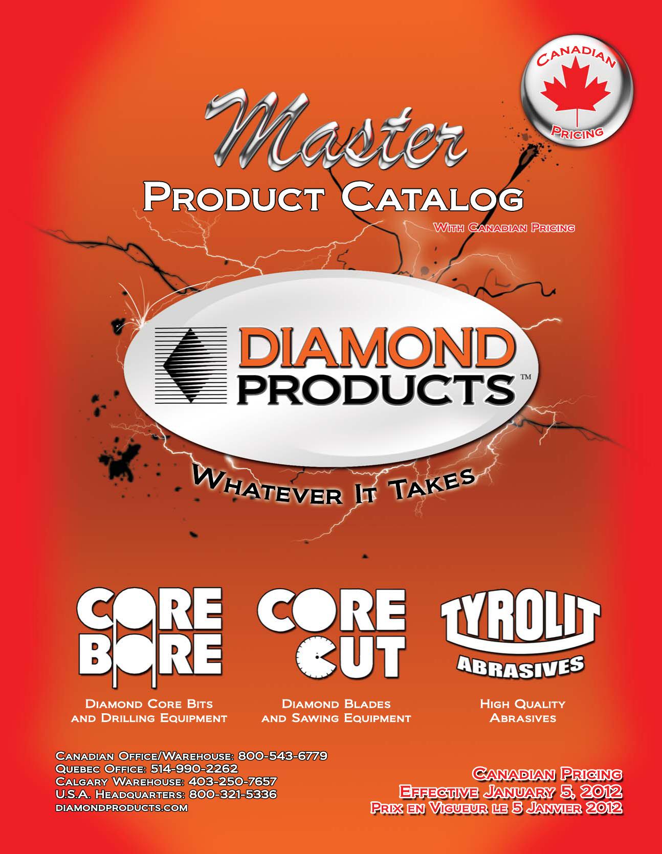 Untitled - Diamond Products   manualzz com