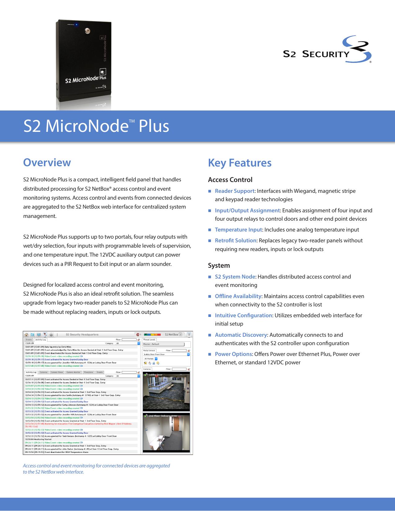 S2 MicroNode Plus Datasheet | manualzz com