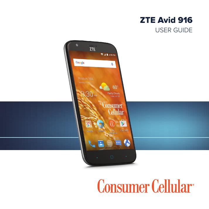 d4ffa4b9f ZTE Avid 916 - Consumer Cellular | manualzz.com