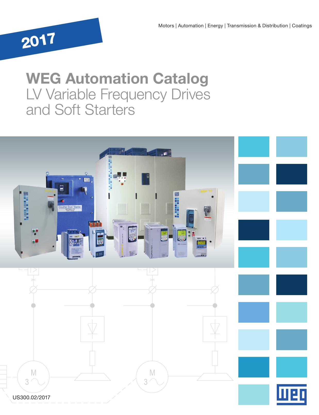 WEG SOFT START SSW050016T2246EPZ FOR 5-HP MOTOR* 230 Volt 3 Phase