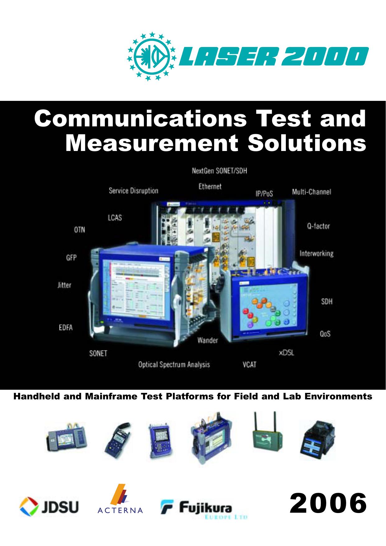 Communications Test and Measurement Solutions | manualzz com