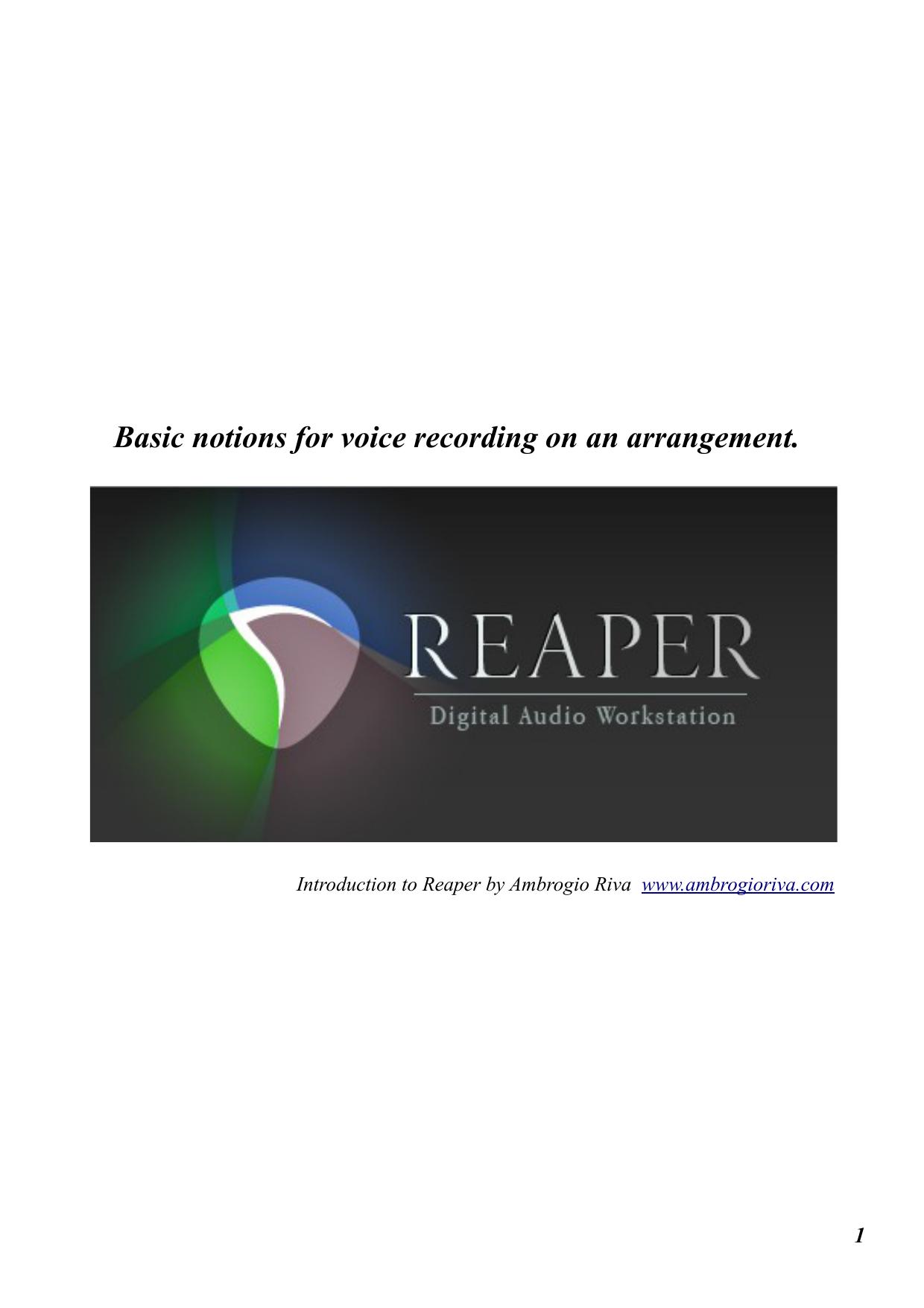 voice recording [PDF 2,7 MB] | manualzz com