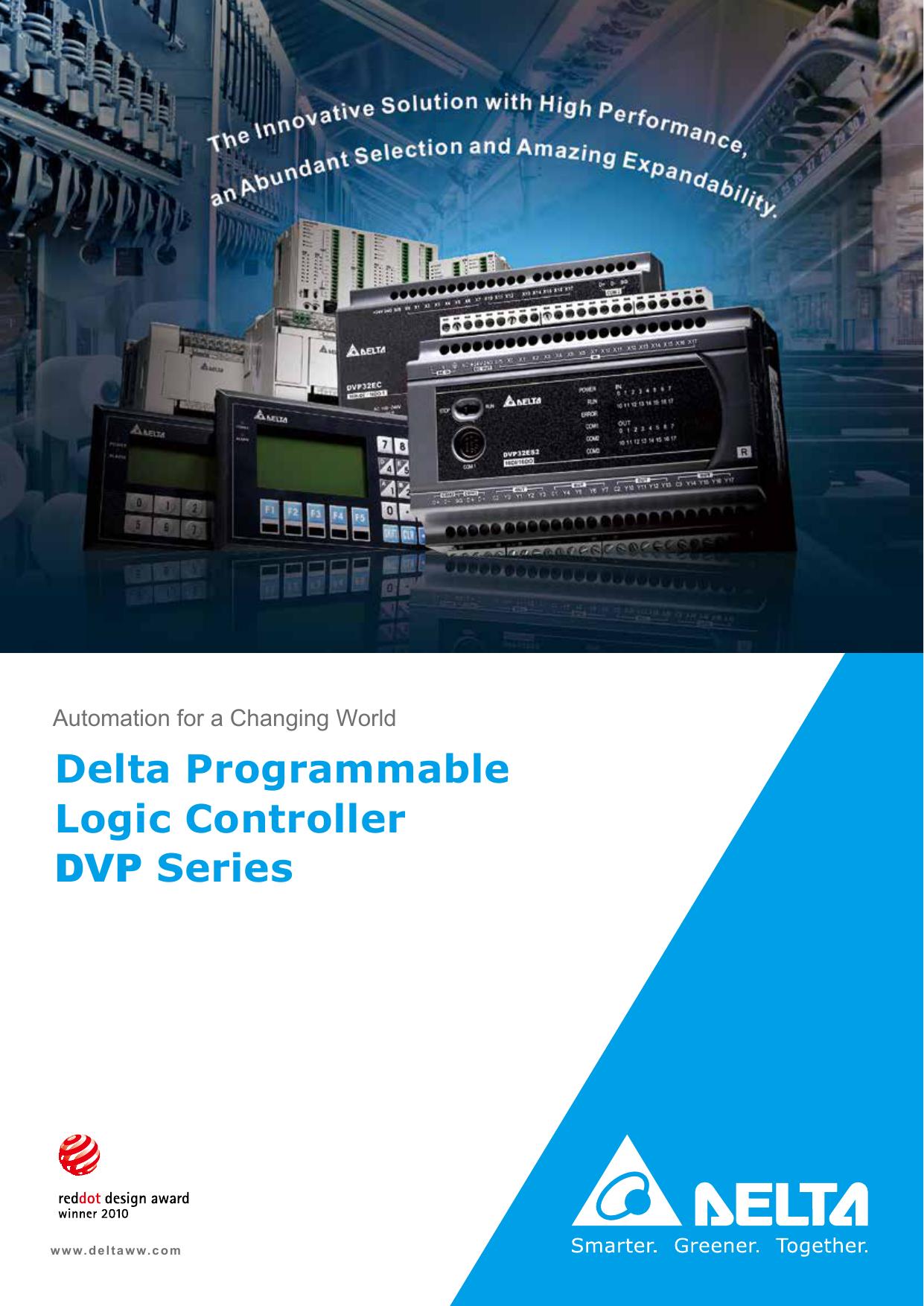 Delta Programmable Logic Controller DVP Series | manualzz com