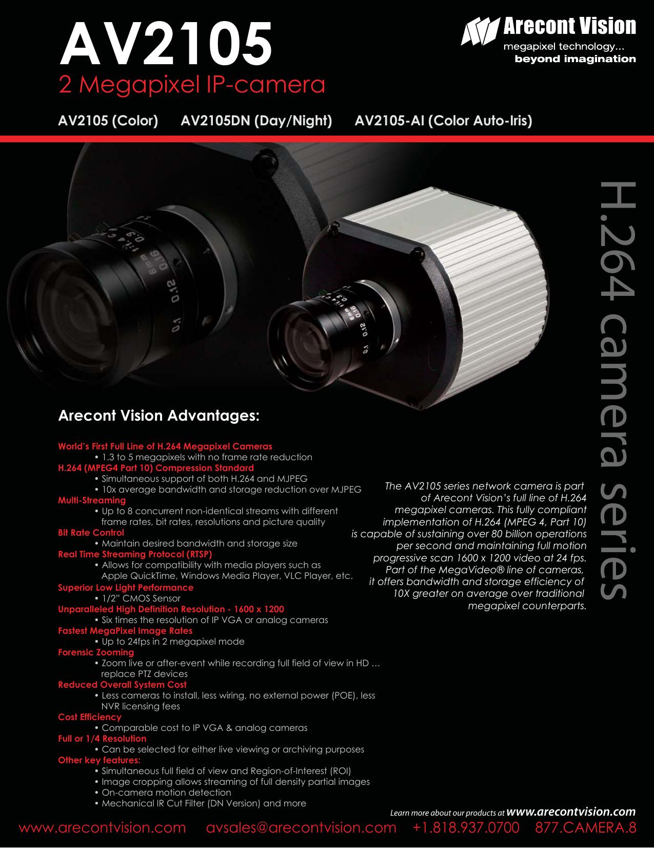 ARECONT VISION AV5105-AI IP CAMERA WINDOWS 8.1 DRIVER