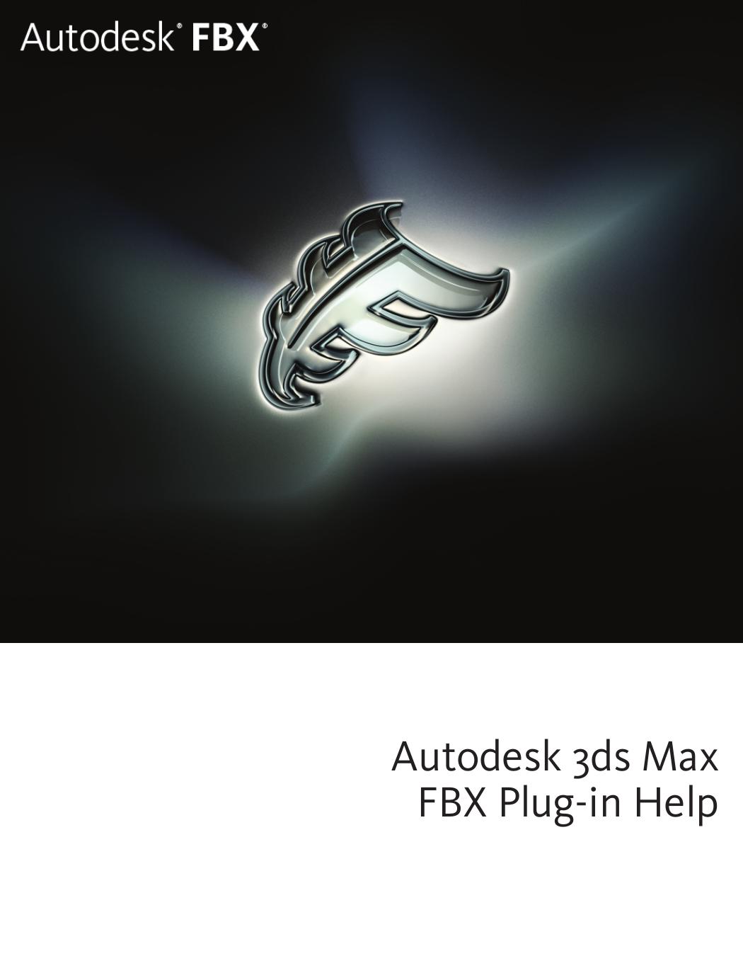 Autodesk 3ds Max FBX Plug | manualzz com