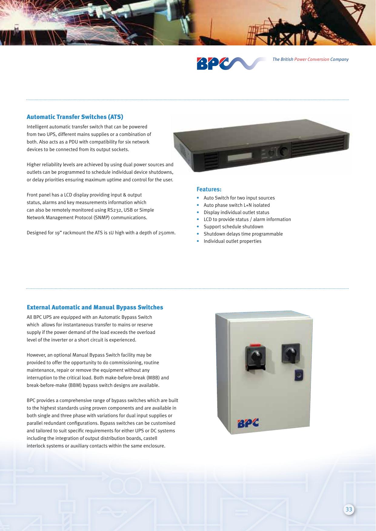 33 Automatic Transfer Switches (ATS) External   manualzz com