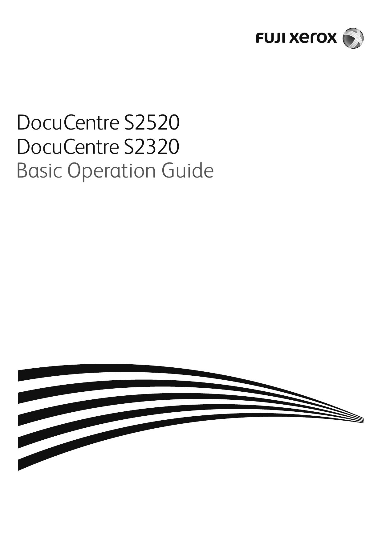 DocuCentre S2520/S2320 Basic Operation Guide   manualzz com