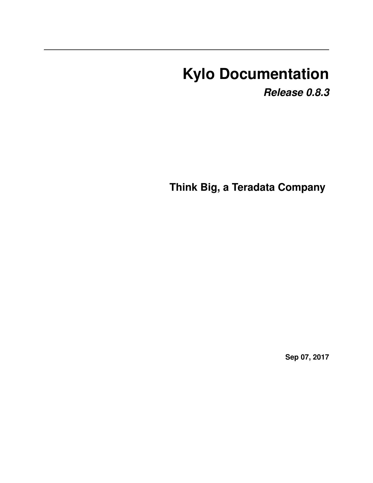 Kylo Documentation | manualzz com