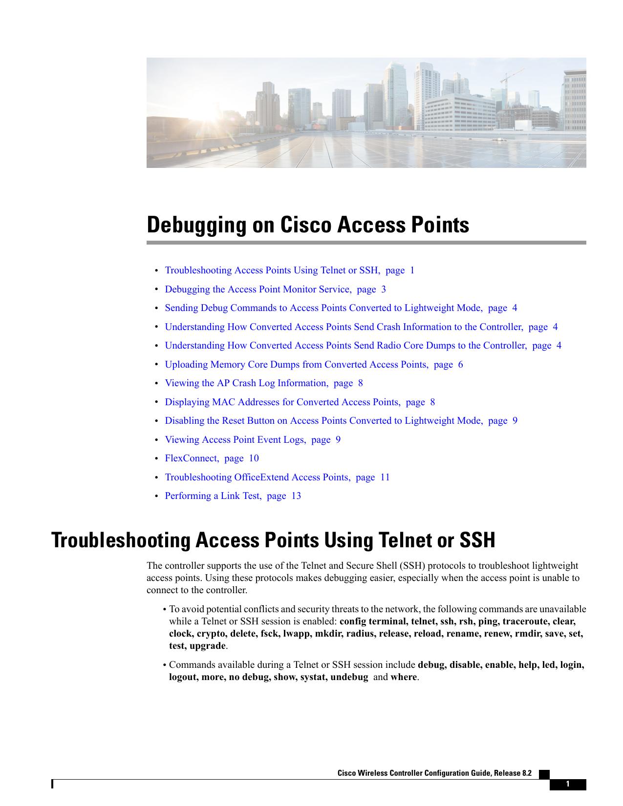 Debugging on Cisco Access Points   manualzz com