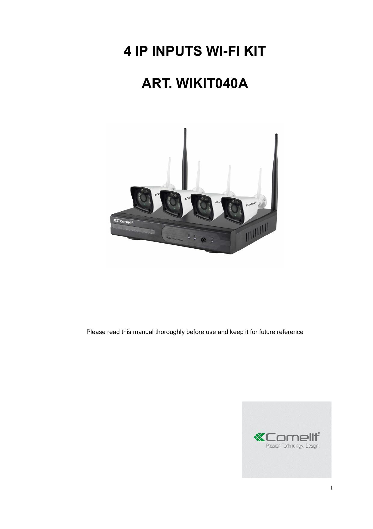 4 ip inputs wi-fi kit art  wikit040a   manualzz com