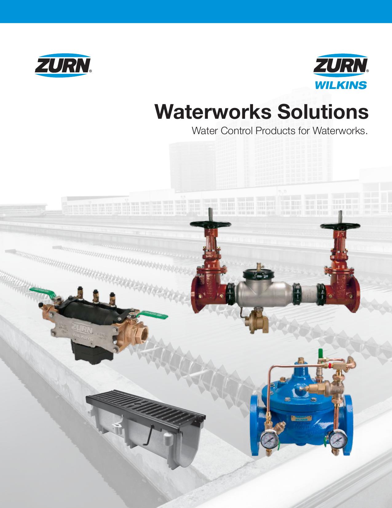 Zurn Wilkins Waterworks Series Catalog | manualzz com