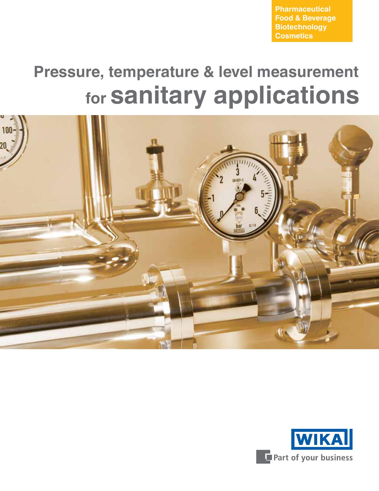 Wika S11 Pressure Transmitter Range: 0 Bar to 10 Bar Along With Calibration Certificate