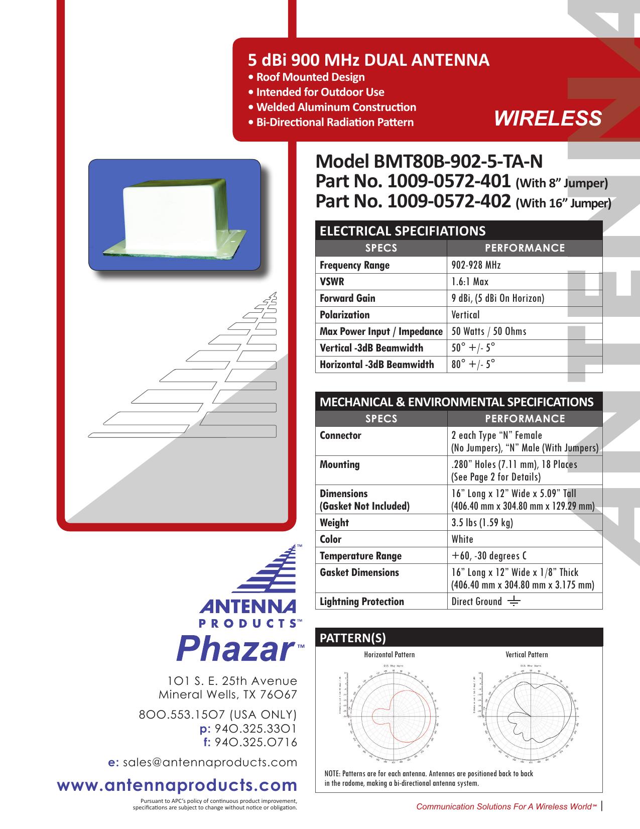 Model BMT80B-902-5-TA-N Part No  1009-0572 | manualzz com